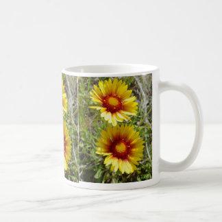 F0008 Yellow Wildflower Duet Mug