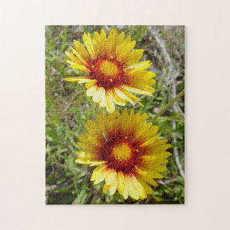 F0008 Yellow Wildflowers Puzzles