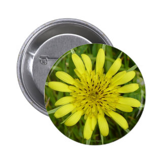 F0009 Yellow Wildflower button