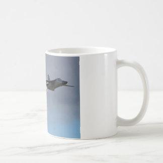 F111 Dump & Burn Basic White Mug