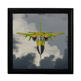 F111 FIGHTER IN YOUR FACE LARGE SQUARE GIFT BOX