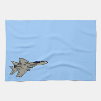 F15 Fighter Design Hand Towels