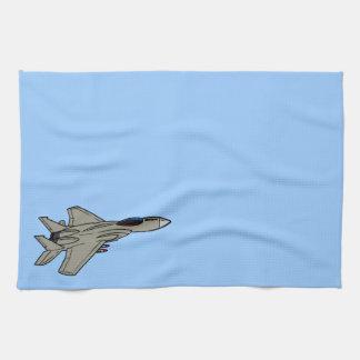 F15 Fighter Design Hand Towels