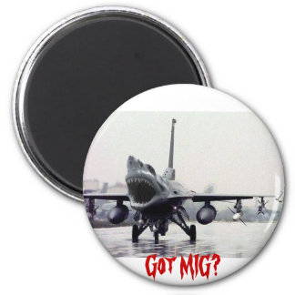 F16 Shark Magnet