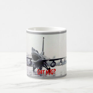 F16 shark Mug