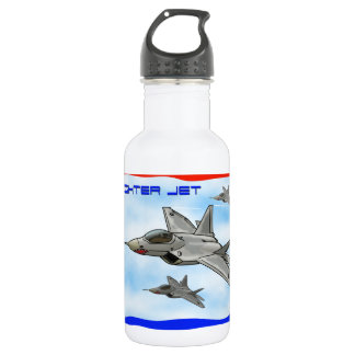 F22 Raptor fighter jet 532 Ml Water Bottle