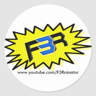 F3R Youtube Stickers