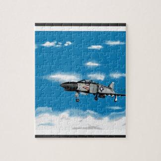F4 Phantom  Navy Jet Fighter Jigsaw Puzzle