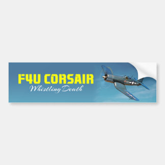 F4U Corsair Bumper Sticker