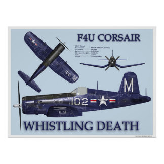 F4U Corsair Poster