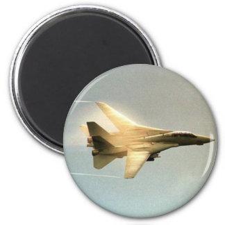 F-14 Tomcat 6 Cm Round Magnet