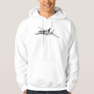 F-14 Tomcat Men's Basic Hooded Sweatshirt T-Shirt