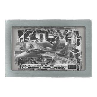 F-14 Tomcat Pewter Belt Buckle