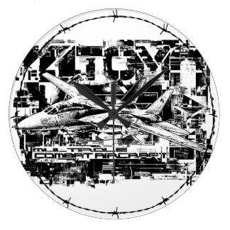 F-14 Tomcat Round (Large) Acrylic Wall Clock