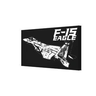 F-15 Eagle Canvas Prints