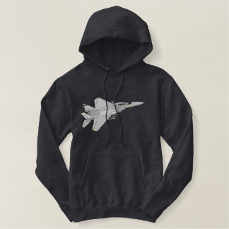 F-15 Fighter Embroidered Hoodie