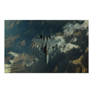 F-15 Strike Eagle Poster