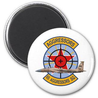 F-15 Strike Eagles 65th Aggressors Squadron Magnet