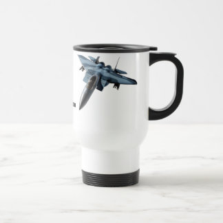 F-15C Over Alaska Drinkware Travel Mug