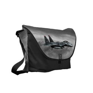 F-15E Strike Eagle  Outside Print Bag Commuter Bag