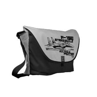 F-15E Strike Eagle  Outside Print Bag Messenger Bag