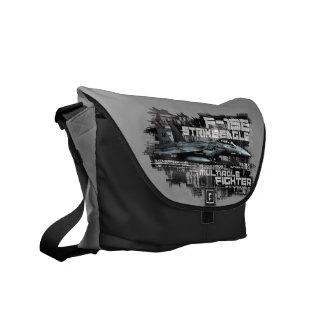 F-15E Strike Eagle  Outside Print Bag Messenger Bags
