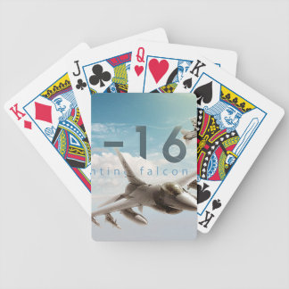 F-16 Fighting Falcon Bicycle Playing Cards