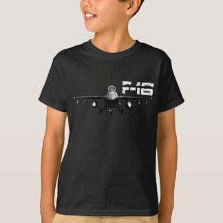 F-16 Fighting Falcon Kids' Basic Hanes Tagless Co Tee Shirt