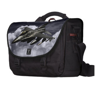 F-16 Fighting Falcon Laptop Commuter Bag