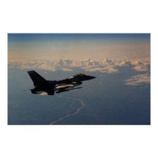 F-16 Fighting Falcon Poster