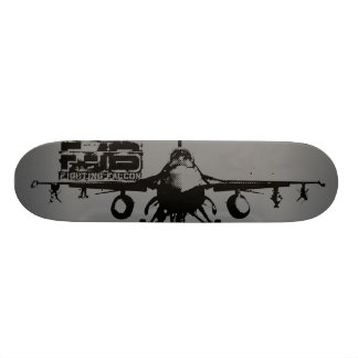 F-16 Fighting Falcon Skate Board Deck
