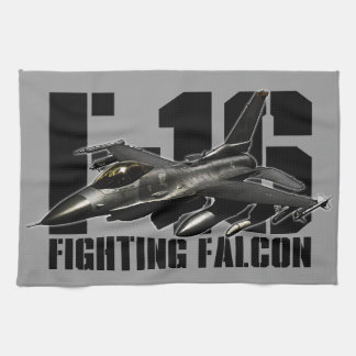 F-16 Fighting Falcon Hand Towels