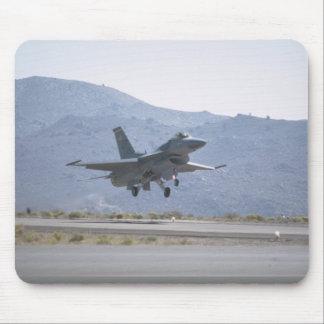 F-16 Landing At Luke Air Force Base Mouse Pad