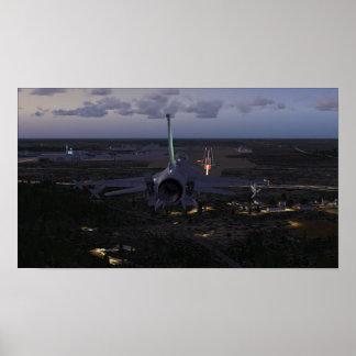 F-16 Landing (FSX) Poster