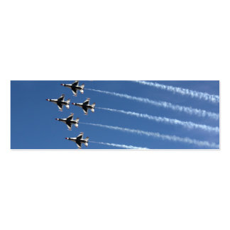 F-16 Thunderbirds Delta Formation Pack Of Skinny Business Cards