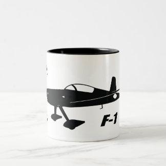 F-1 Rocket Two-Tone Coffee Mug