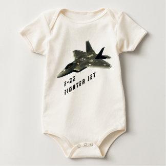 F-22 Fighter Jet, Raptor Baby Bodysuit