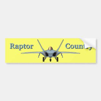 F-22 Raptor Country Bumper Sticker Car Bumper Sticker