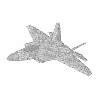 F-22 Raptor Embroidered Hooded Sweatshirt