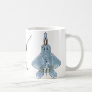 F-22 Raptor Mug Basic White Mug
