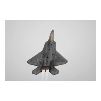 F-22 Raptor Poster