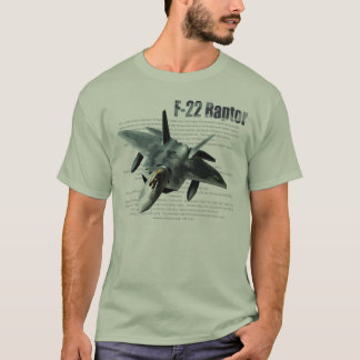 """F-22 Raptor"" T-shirt"