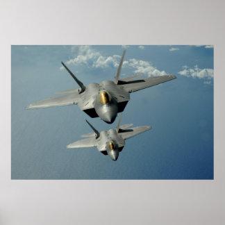 F-22 Raptors Poster