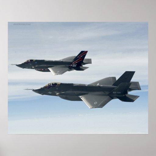F-35 Lightning Poster