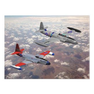 F-80 & T-33 PHOTOGRAPH