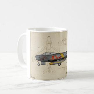 F-86 Sabre Jet coffee mug
