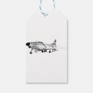 F-86D GIFT TAGS