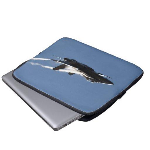 F/A-18, CF-18 Hornet Aircraft Action Photo Design Laptop Computer Sleeve