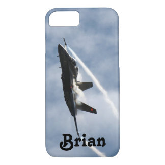 F/A-18 Fighter Jet Plane Air Show for Brian iPhone 7 Case