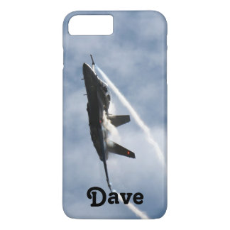 F/A-18 Fighter Jet Plane Air Show for Dave iPhone 7 Plus Case